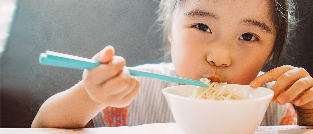 Dietary pattern in Chinese kids