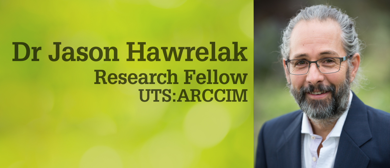 Meet the researchers: Dr Jason Hawrelak