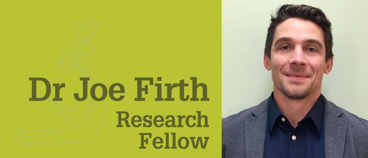 Dr Joseph Firth Research Fellow, NICM  Western Sydney University