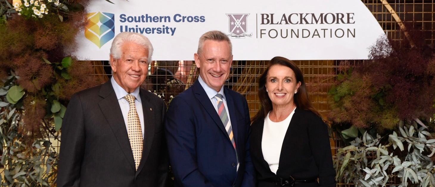 Blackmore Foundation's record $10m gift to Southern Cross University